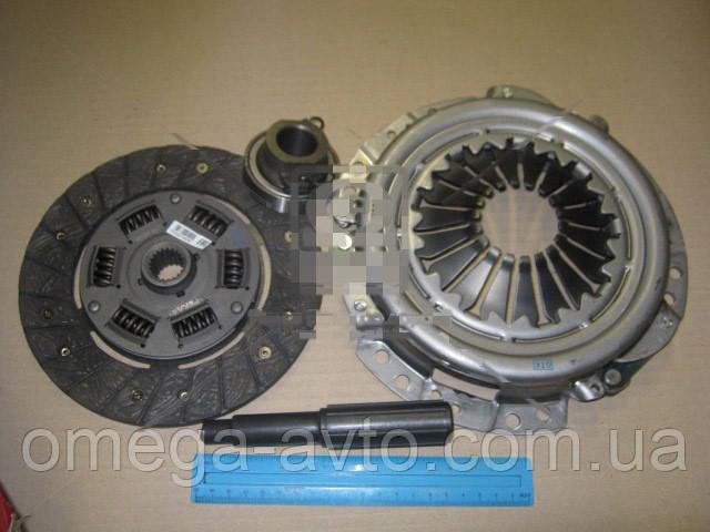 Комплект зчеплення ВАЗ 2121, 21213, 21214 НИВА (диск натискний+ведений+підшипник) (Пекар) 2121-1601000