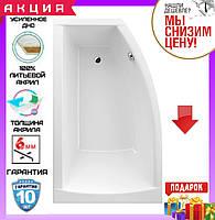 Асимметричная акриловая ванна 160x95 см Excellent Magnus WAEX.MGL16WH левосторонняя