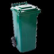 Бак для мусора 240л. зеленый