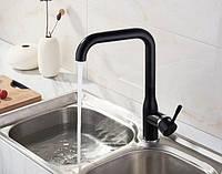 Смеситель для кухни SANTEP 14023B Черный матовый, фото 1