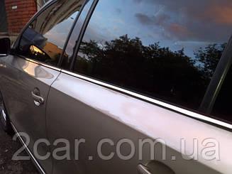 Хром молдинги стекол Volkswagen Golf 5