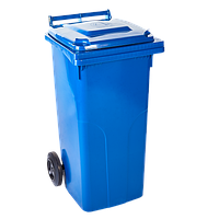"Бак для мусора 240л. синий ""Алеана"""
