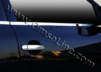 Хром молдинг стекла Volkswagen Passat B5