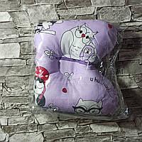 Подушка ортопедическая для новорожденного для девочки