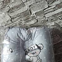 Подушка ортопедическая для новорожденного для мальчика