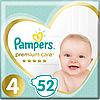 Підгузники дитячі Pampers Premium Care Dry Max Maxi 4 (8-14 кг) Econom Pack 52 шт