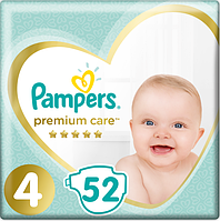 Подгузники Pampers Premium Care Dry Max Maxi 4 (8-14 кг) Econom Pack 52 шт., фото 1