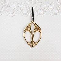 """Ножницы для рукоделия и вышивки """"Vintage"""" золото, 10.5*4.5 см, фото 1"""