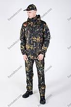 Камуфляжный костюм летний МС-3 Тёмный клен