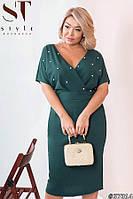 Платье футляр женское большие размеры праздничное 50-52 54-56 58-60