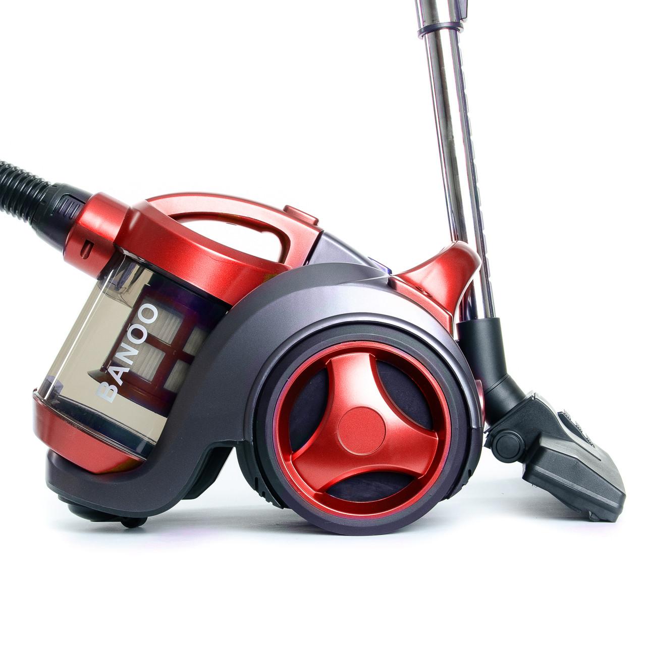 Контейнерный пылесос Banoo BN-4001 Red
