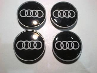 Колпачки в диски AUDI 64-68 мм