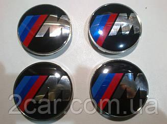 Ковпаки на диски BMW M-style діаметр 63мм