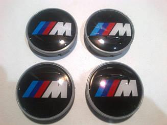 Ковпаки на диски BMW M-style діаметр 55мм