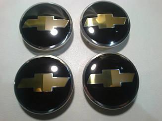 Колпаки в диски CHEVROLET диаметр 60мм 1шт