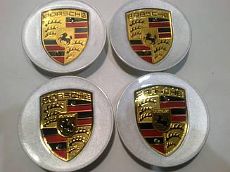 Колпачок в диск Porsche диаметр 60 мм