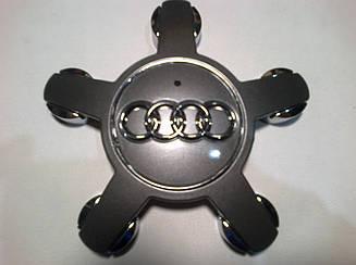Колпачок в диск AUDI звезда диаметр 58 мм