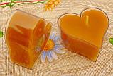 Восковая чайная свеча Валентинка 36г в пластиковом прозрачном контейнере, фото 6