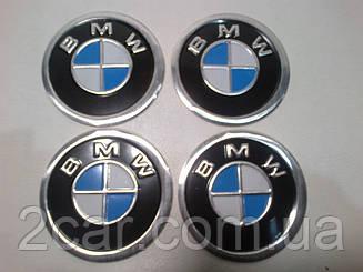 Наклейка на колпачок диска BMW 60 мм