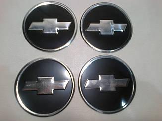 Наклейка на колпачок диска Chevrolet 60 мм