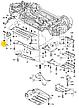 Гайка внутренней отделки М6 на Ауди, фото 2