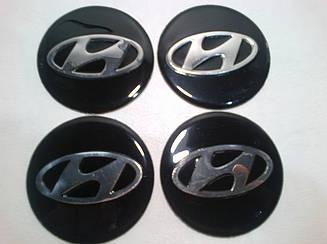 Наклейка на колпачок диска Hyundai 60 мм