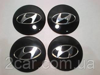 Наклейка выпуклая на колпачок диска Hyundai 65 мм