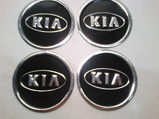 Наклейка на колпачок диска Kia 60 мм