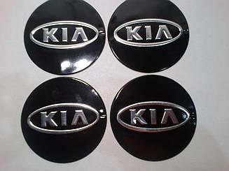 Наклейка на колпак диска Kia 90 мм