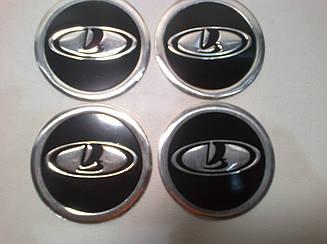 Наклейка на колпачок диска Lada 60 мм