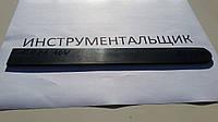 Заготовка для ножа сталь CPM 10V 250х28-29х4-4,2 мм термообработка (63 HRC) шлифовка, фото 1