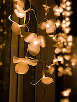 "Гирлянда-бахрома на окно  «Каскад орхидей"", фото 1"