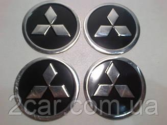 Наклейка на колпачок диска Mitsubishi 60 мм