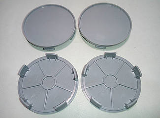 Колпачок в диск диаметр 65 мм серый