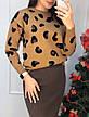 Женский теплый костюм с юбкой, фото 2