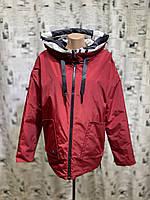 Куртка женская двухсторонняя весна-осень Mishele 718