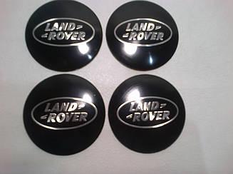 Наклейка выпуклая на колпачок диска Land Rover 56 мм