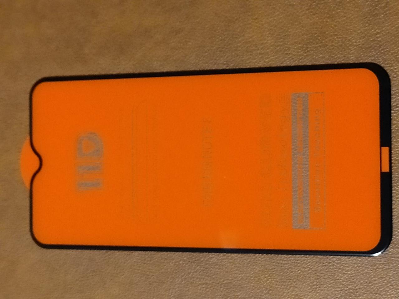 Захисне 11D скло Xiaomi Redmi note 8 (черн.)