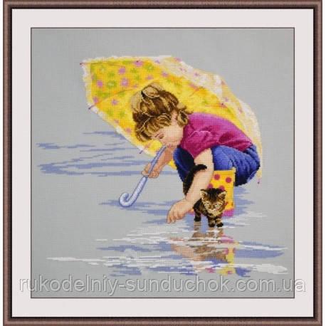 """Набор для вышивки крестом ТМ Овен """"Солнечный зонтик"""" 782"""
