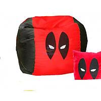 Кресло мешок мяч Человек паук красный