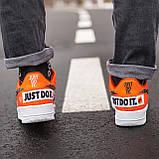 Кросівки Nike Air Force Just Do It Orange, фото 5