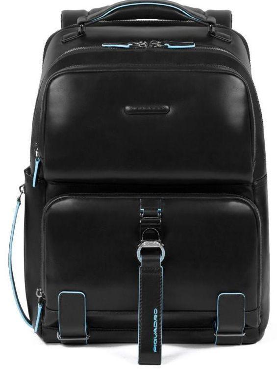 Рюкзак для ноутбука 14 дюймов Piquadro Bl Square, черный