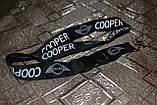 Шнурок на шею для ключей  Mini Cooper  чёрный, фото 2