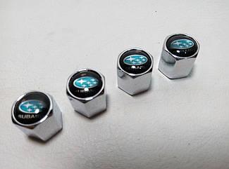 Колпачки на ниппеля Subaru