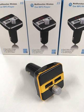 FM X9 FM Модулятор с блютузом ART-X9 BT, фото 2