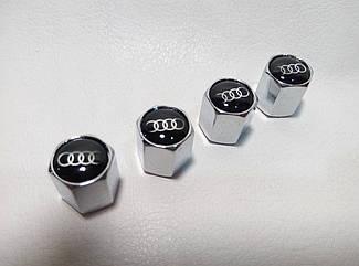 Колпачки на ниппеля Audi