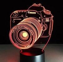 Настольный светильник 3D Desk Lamp Фотоаппарат