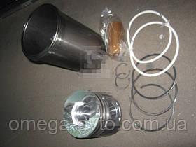 Гильзо-комплект КАМАЗ 740 (ГП алюм. с рассек.+упл.кольца) п/к (МД Конотоп) 740.1000101-АК