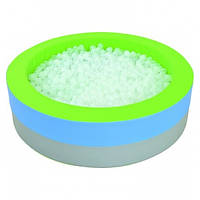 Сухой бассейн с подсветкой круглый 150х40 см