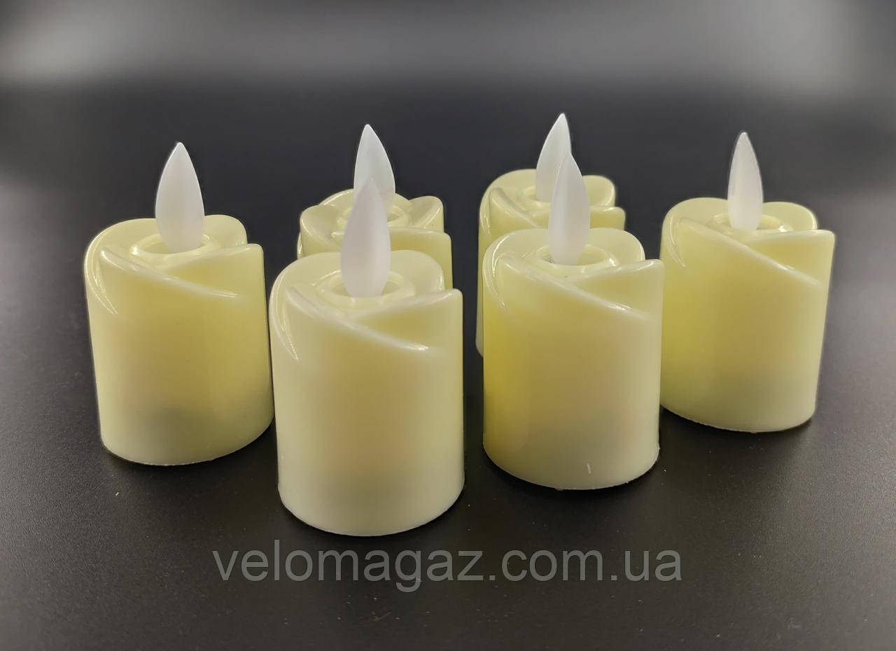 LED свечи с имитацией живого пламени, эффект ветра!